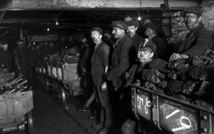 mineri in perioada interbelica
