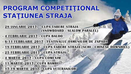 competitii in straja